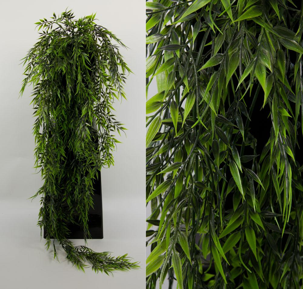 bambusranke 110cm ig k nstlicher bambus kunstpflanzen ebay. Black Bedroom Furniture Sets. Home Design Ideas