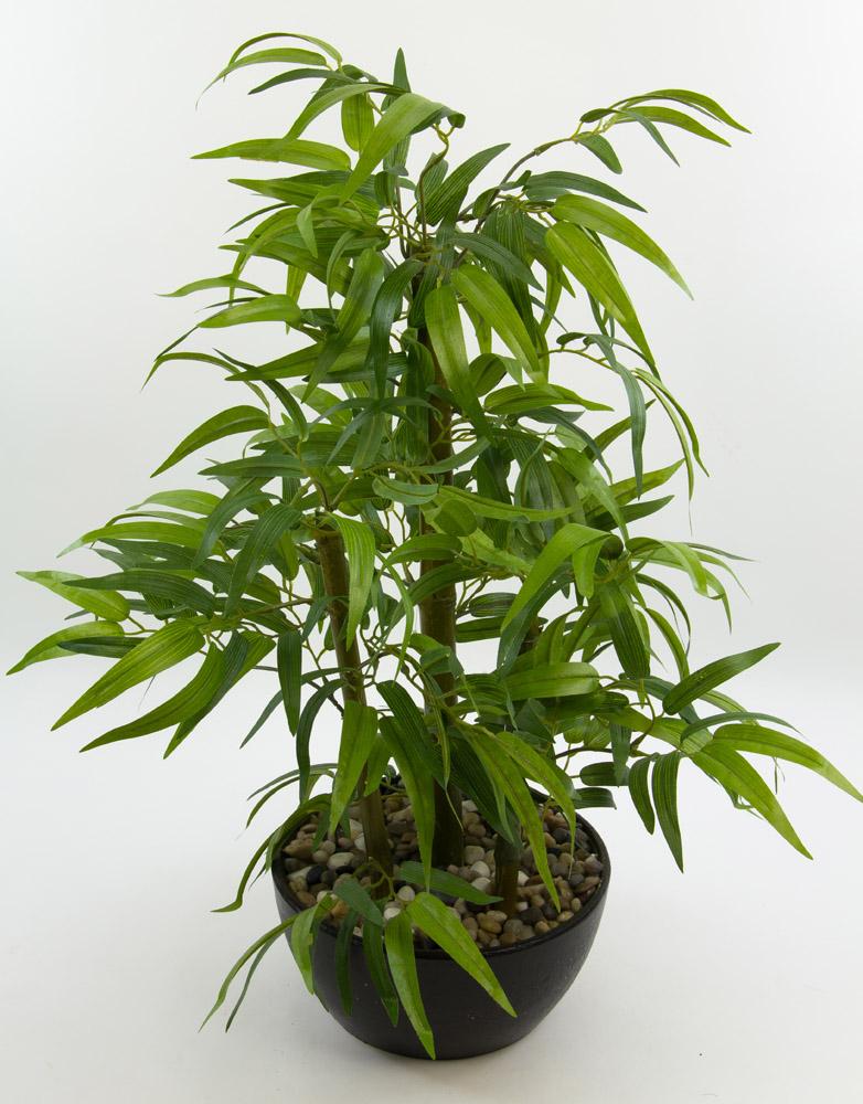 bonsai bambus in dekoschale 60cm ga kunstpflanzen kunstbaum k nstlicher baum ebay. Black Bedroom Furniture Sets. Home Design Ideas