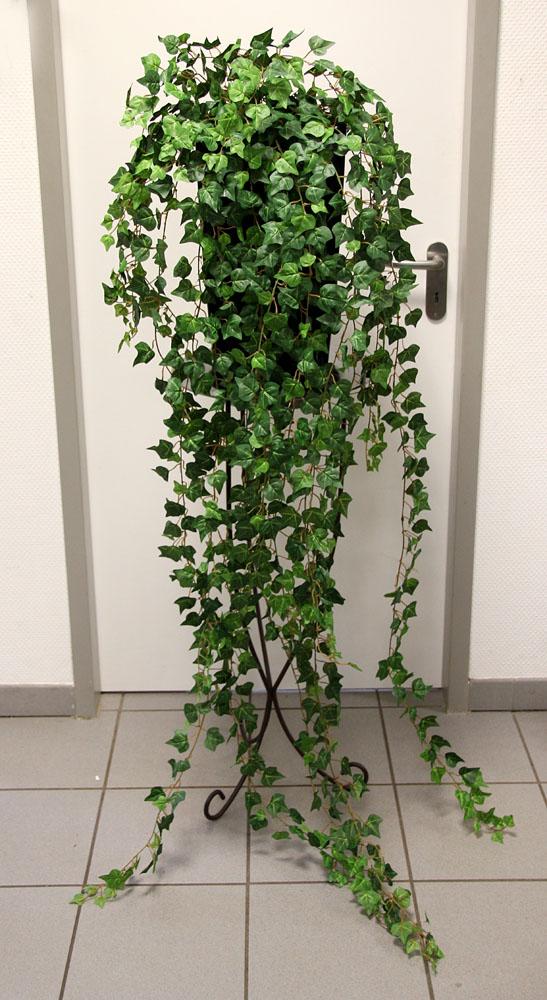 efeubusch gr n 180cm ga k nstliches efeu efeuranke kunstpflanzen ebay. Black Bedroom Furniture Sets. Home Design Ideas