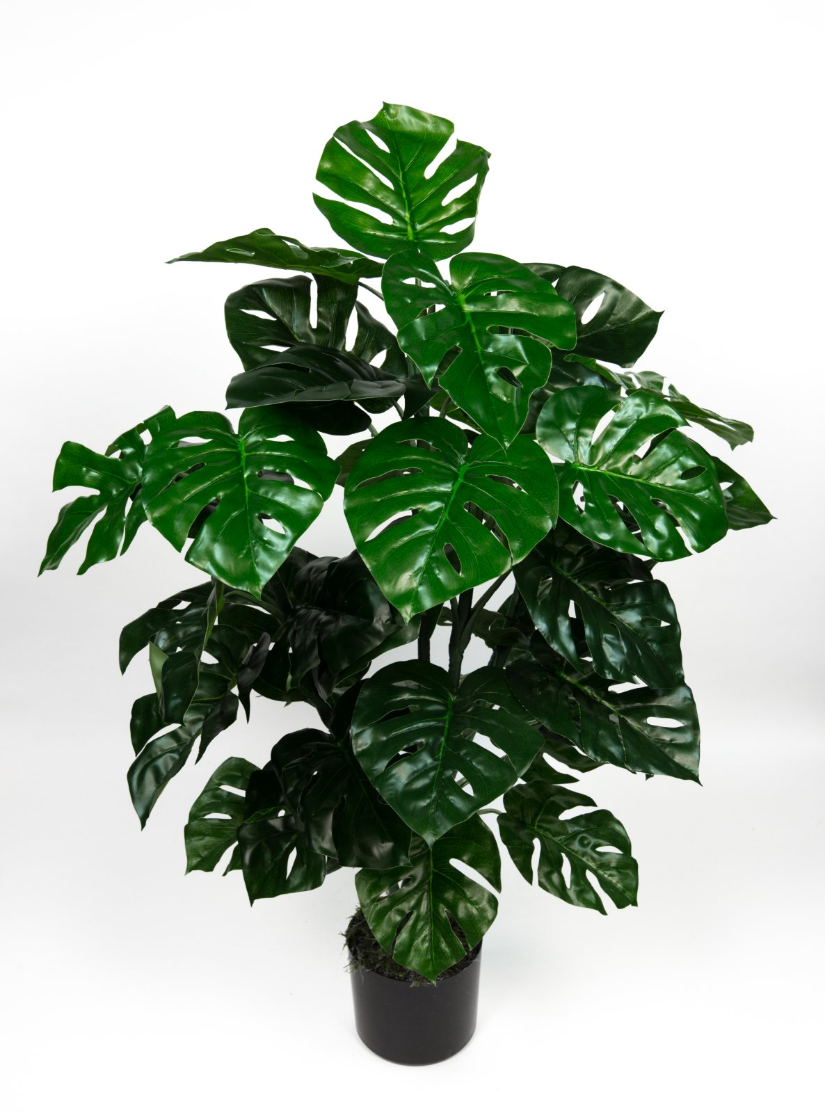 splitphilopflanze real touch 100cm gr n zj kunstpflanzen k nstlicher splitphilo ebay. Black Bedroom Furniture Sets. Home Design Ideas