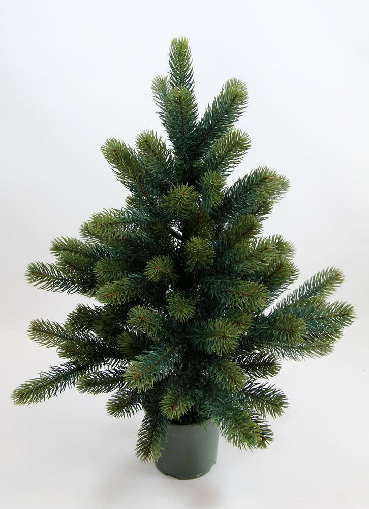 Edel tannenbaum luxus ii 60cm pf k nstlicher for Luxus weihnachtsbaum