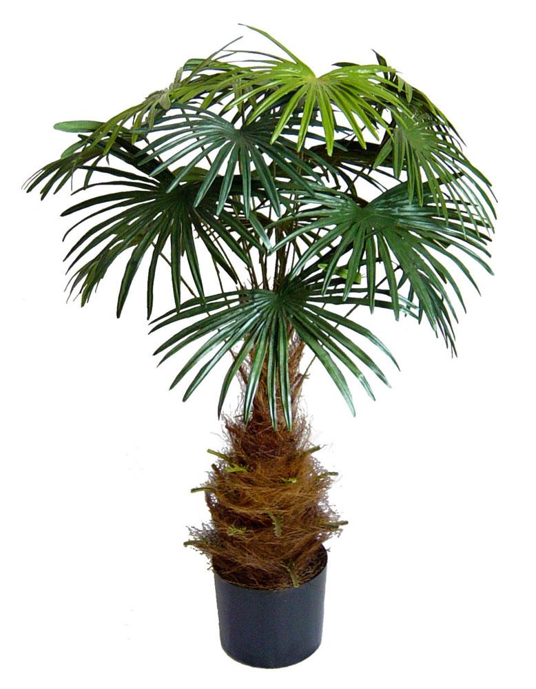 f cherpalme 90cm da k nstliche palme pflanzen kunstpalmen kunstpflanzen ebay. Black Bedroom Furniture Sets. Home Design Ideas
