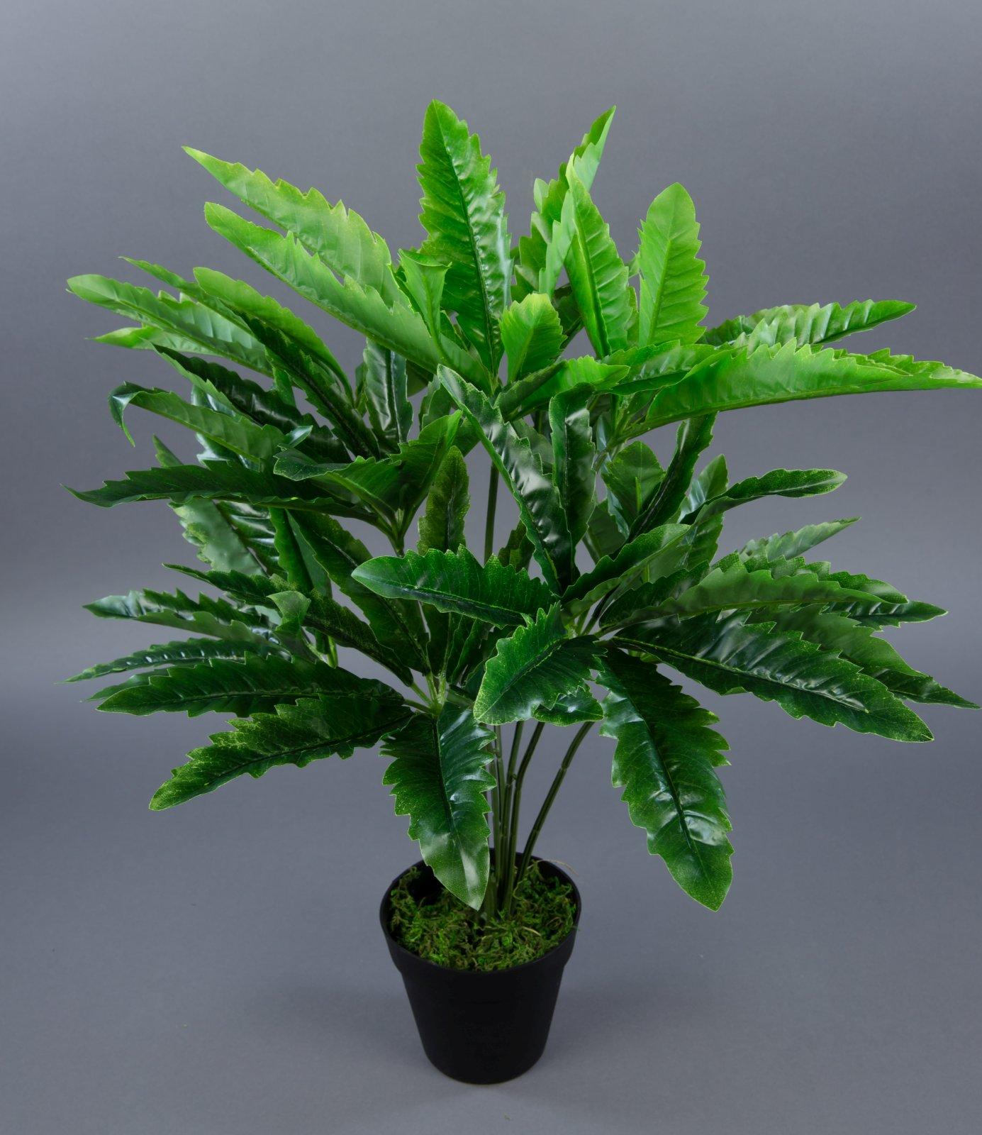 hanfpflanze cannabispflanze 60cm ga k nstlicher hanf cannabis kunstpflanzen ebay. Black Bedroom Furniture Sets. Home Design Ideas