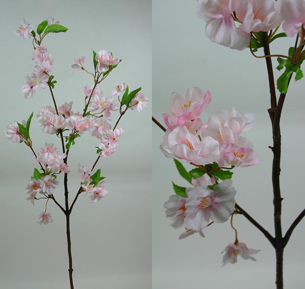 Kirschblütenzweig rosa 85cm AR künstliche Blumen | eBay
