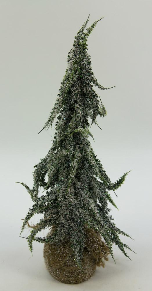Tannenb umchen mit schnee 40cm ig k nstlicher tannenbaum - Beleuchteter tannenbaum kunststoff ...