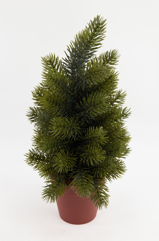 tannenb umchen 36cm im topf ar k nstlicher tannenbaum kunststoff spritzguss ebay. Black Bedroom Furniture Sets. Home Design Ideas