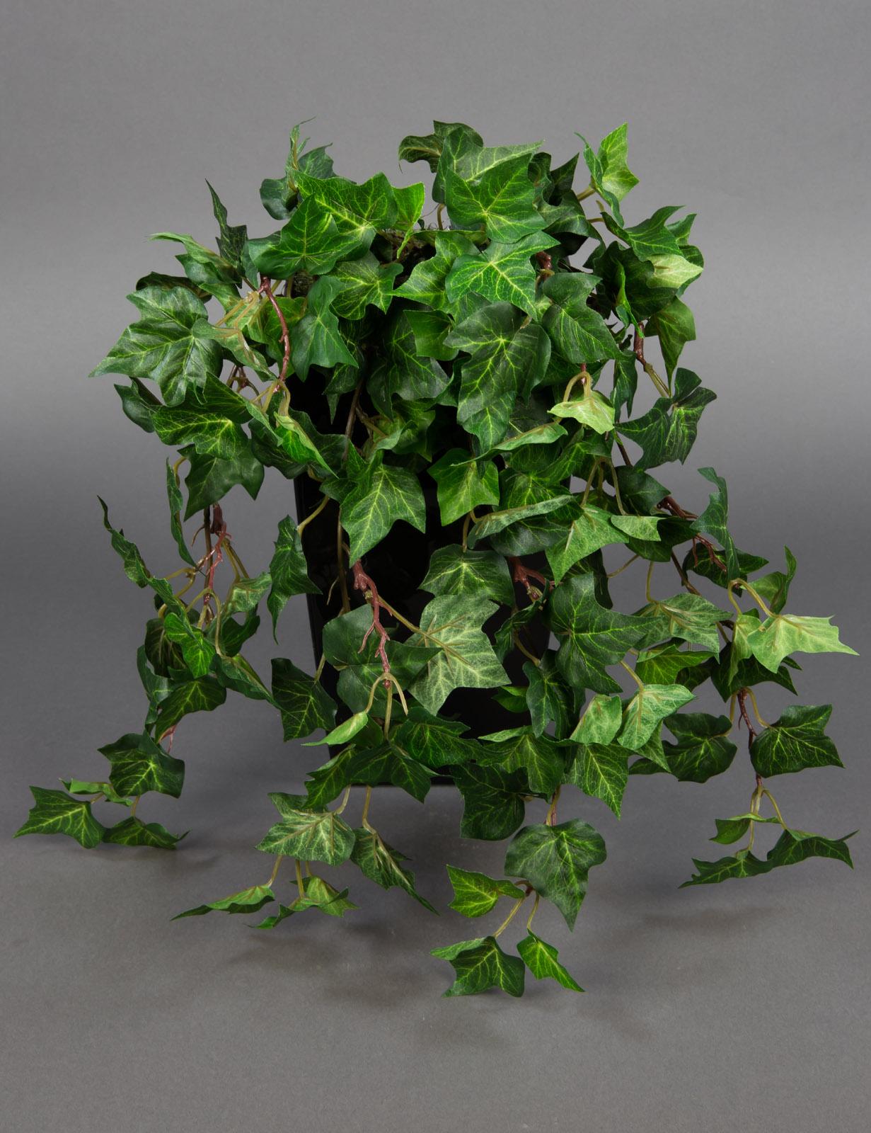 waldefeubusch 45cm da k nstliches efeu efeuranke kunstpflanzen efeubusch ebay. Black Bedroom Furniture Sets. Home Design Ideas