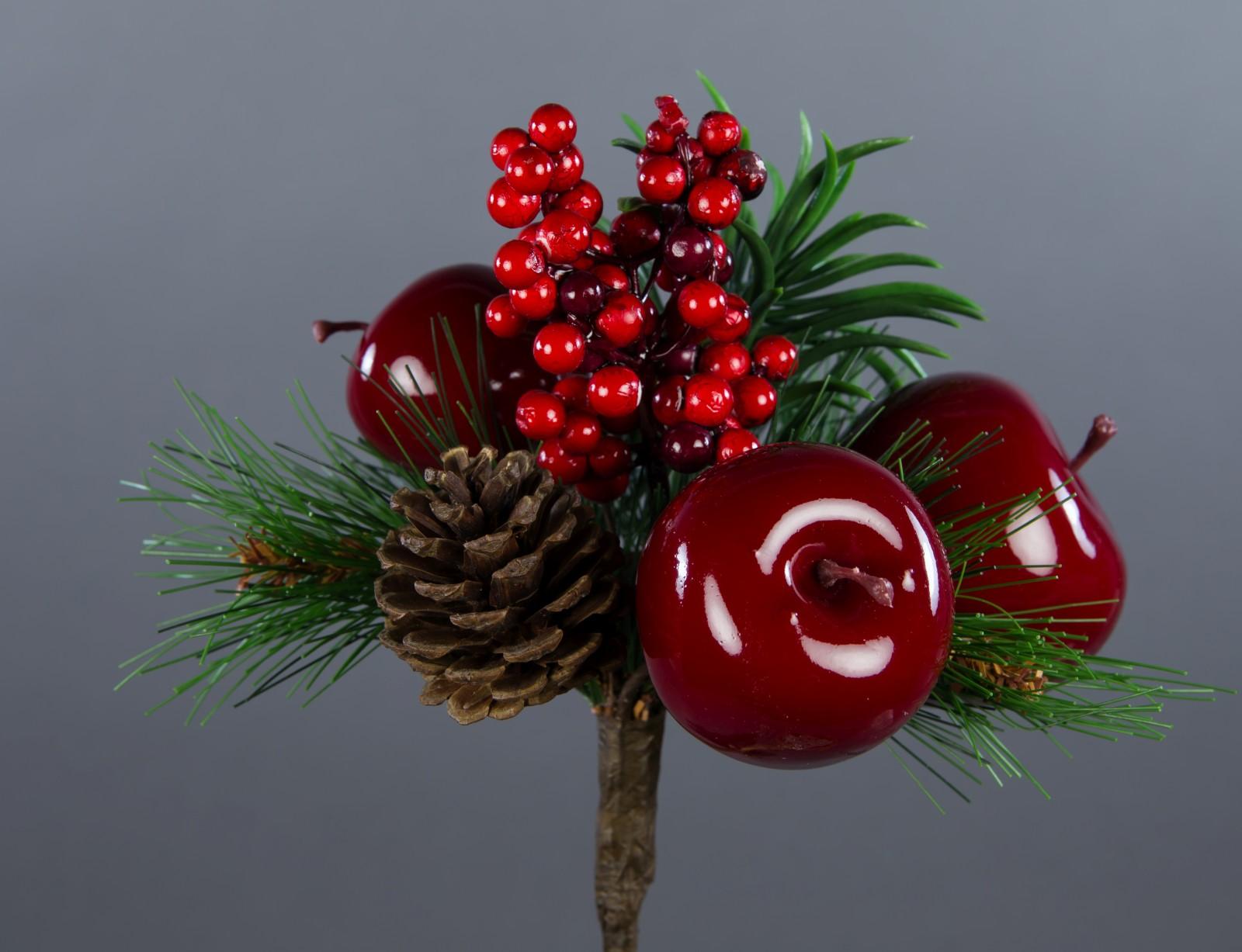 weihnachtsbouquet 20x16cm mit apfel beeren zapfen und tanne ga kunstpflanzen ebay. Black Bedroom Furniture Sets. Home Design Ideas